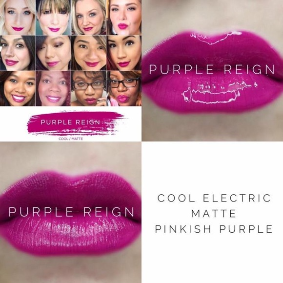 Purple reign LipSense lip color